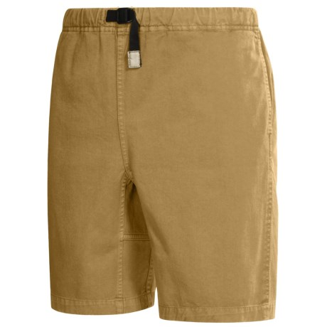 Gramicci Original G Shorts - Cotton Twill (For Men) in Balsom Khaki