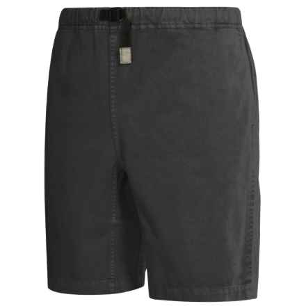 Gramicci Original G Shorts - Cotton Twill (For Men) in Black - Closeouts