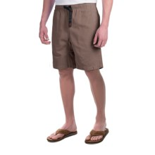 Gramicci Original G Shorts - Cotton Twill (For Men) in Falcon Brown - Closeouts