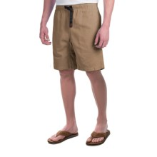 Gramicci Original G Shorts - Cotton Twill (For Men) in French Khaki - Closeouts
