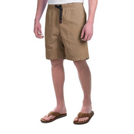 Gramicci Original G Shorts - Cotton Twill (For Men) in French Khaki