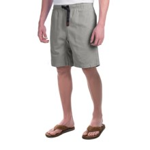 Gramicci Original G Shorts - Cotton Twill (For Men) in Light Grey - Closeouts
