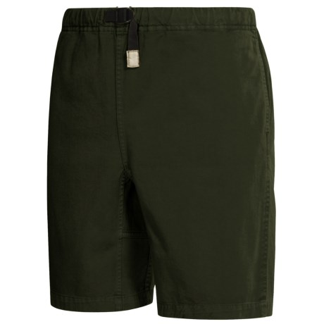 Gramicci Original G Shorts - Cotton Twill (For Men) in Olive Night