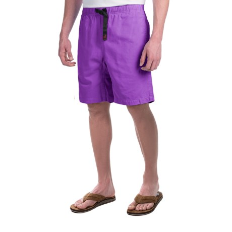 Gramicci Original G Shorts - Cotton Twill (For Men) in Purple