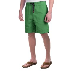 Gramicci Original G Shorts - Cotton Twill (For Men) in Willow Green