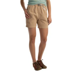 Gramicci Original G Shorts - Cotton Twill (For Women) in Old Stone