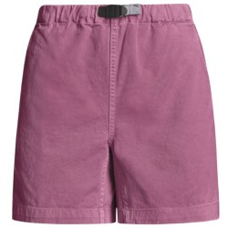 Gramicci Original G Shorts - Cotton Twill (For Women) in Baltic Sea