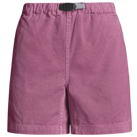 Gramicci Original G Shorts - Cotton Twill (For Women) in Deep Orchid