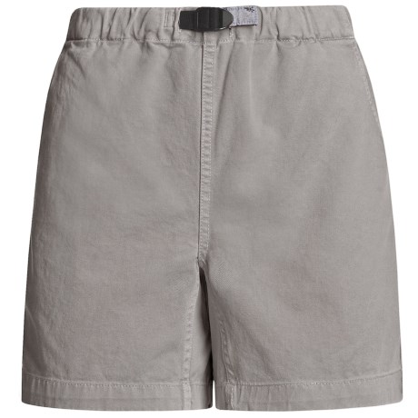 Gramicci Original G Shorts - Cotton Twill (For Women) in Haze