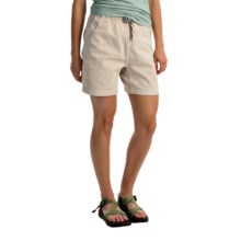 Gramicci Original G Shorts - Cotton Twill (For Women) in Old Stone - Closeouts