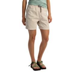 Gramicci Original G Shorts - Cotton Twill (For Women) in Old Stone