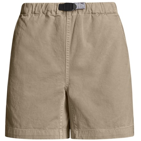 Gramicci Original G Shorts - Cotton Twill (For Women) in Tuscan Hay