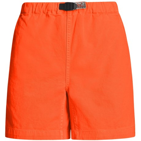 Gramicci Original G Shorts - Cotton Twill (For Women) in Uniform Red