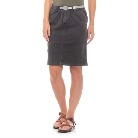 Gramicci Original G Skirt - UPF 50 (For Women) in Black