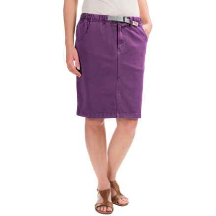 Gramicci Original G Skirt - UPF 50 (For Women) in Deep Petunia - Closeouts