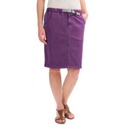 Gramicci Original G Skirt - UPF 50 (For Women) in Deep Petunia - Closeouts