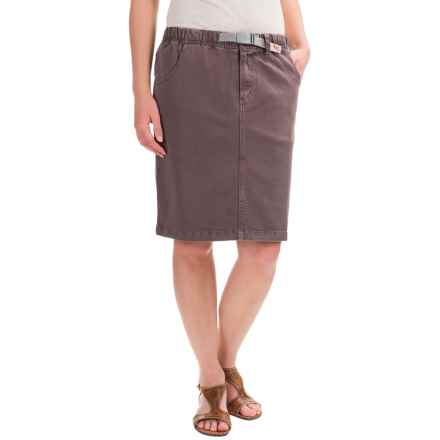 Gramicci Original G Skirt - UPF 50 (For Women) in Mink Brown - Closeouts