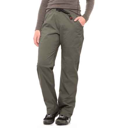 Gramicci Original G Stretch Ripstop Pants (For Women) in Dim Grey - Closeouts