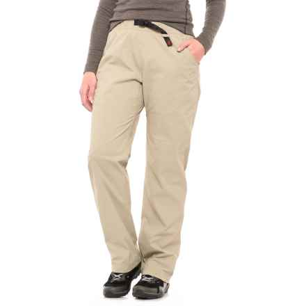 Gramicci Original G Stretch Ripstop Pants (For Women) in Revere Pewter - Closeouts