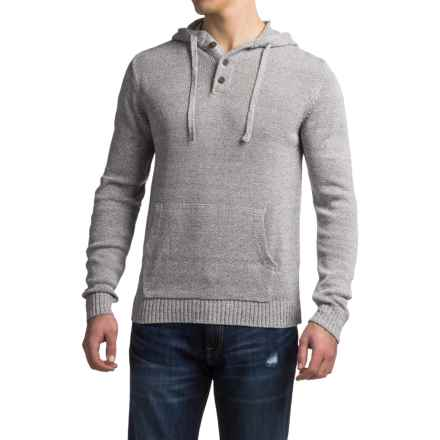 Gramicci Out and About Hooded Sweater - Organic Cotton (For Men) in Marled Grey - Closeouts