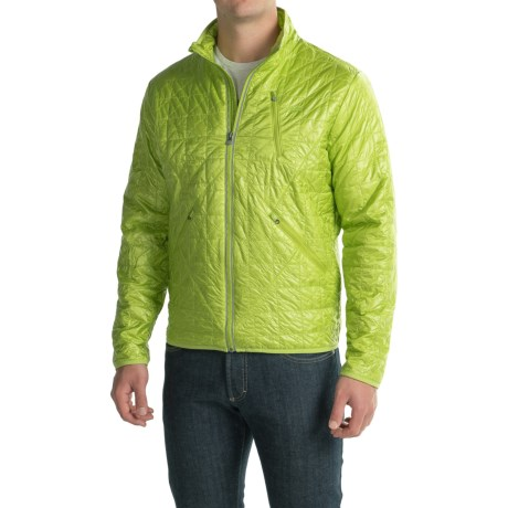 Gramicci Paragon PrimaLoft® Jacket - Insulated (For Men) in Macaw Green
