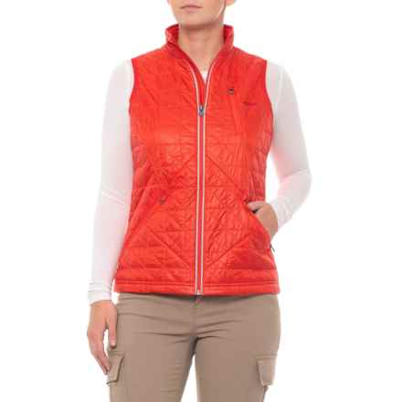 Gramicci Paragon PrimaLoft® Vest - Insulated (For Women) in Fiery Red - Closeouts