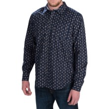 Gramicci Parker Button-Front Shirt - Long Sleeve (For Men) in New Navy - Closeouts