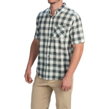 Gramicci Parkside Shirt - Short Sleeve (For Men) in Dusty Olive - Closeouts