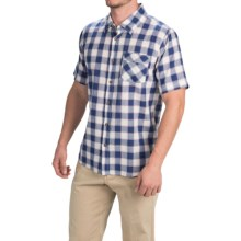 Gramicci Parkside Shirt - Short Sleeve (For Men) in Indigo Blue - Closeouts