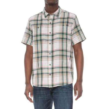 Gramicci Parkside Shirt - Short Sleeve (For Men) in Olive Sage - Closeouts