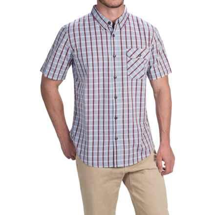 Gramicci Payton Shirt - Short Sleeve (For Men) in Indigo Blue - Closeouts
