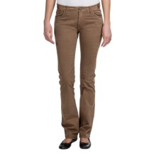Gramicci Poppy Twill Pants - Stretch Cotton (For Women) in Woody Brown - Closeouts
