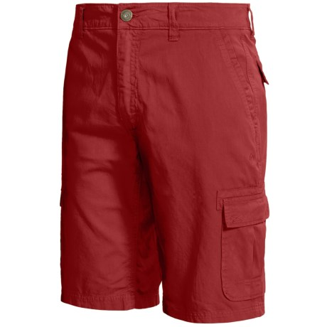 Gramicci Pryor Cargo Shorts - UPF 30, Cotton Twill (For Men) in Deep Red