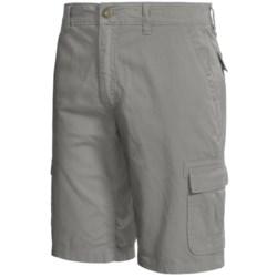 Gramicci Pryor Cargo Shorts - UPF 30, Cotton Twill (For Men) in J Grey