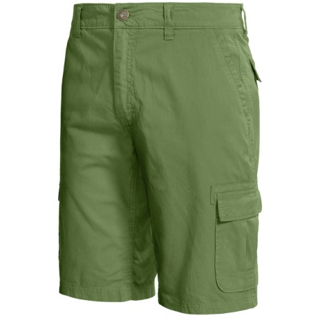 Gramicci Pryor Cargo Shorts - UPF 30, Cotton Twill (For Men) in Willow Green
