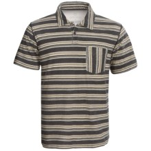 Gramicci Pulpit Rock Polo Shirt - Hemp-Organic Cotton, Short Sleeve (For Men) in Moonless Night - Closeouts