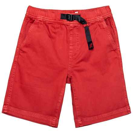 Gramicci Quick-Draw Climbing Shorts (For Little and Big Boys) in Crimson Red - Closeouts
