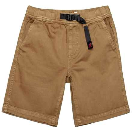 Gramicci Quick-Draw Climbing Shorts (For Little and Big Boys) in Sahara Tan - Closeouts