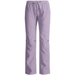 Gramicci Quick Dry Galene Stride Pants - Roll Up (For Women) in Smokey Mountain