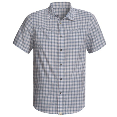 Gramicci Red Rock Shirt - Short Sleeve (For Men) in Cloudburst