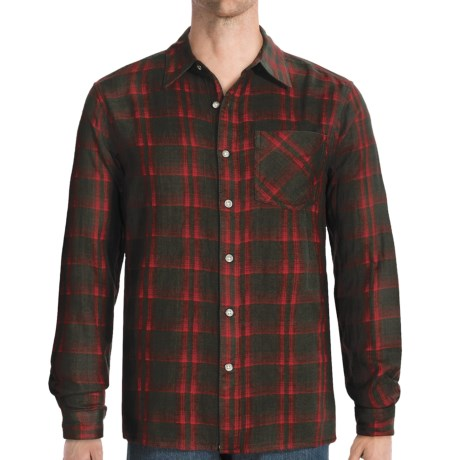 Gramicci Red Stone Shirt - Long Sleeve (For Men) in Big Red