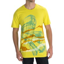 Gramicci Riders on the Storm T-Shirt - Organic Cotton, Short Sleeve (For Men) in Butter Cup - Closeouts