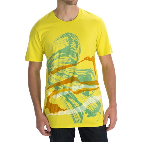 Gramicci Riders on the Storm T-Shirt - Organic Cotton, Short Sleeve (For Men) in Butter Cup