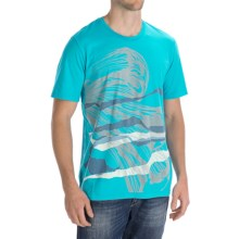 Gramicci Riders on the Storm T-Shirt - Organic Cotton, Short Sleeve (For Men) in Scuba Blue - Closeouts