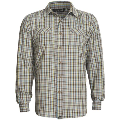 Gramicci Ridgeway Shirt - Long Sleeve (For Men) in Pilot Blue