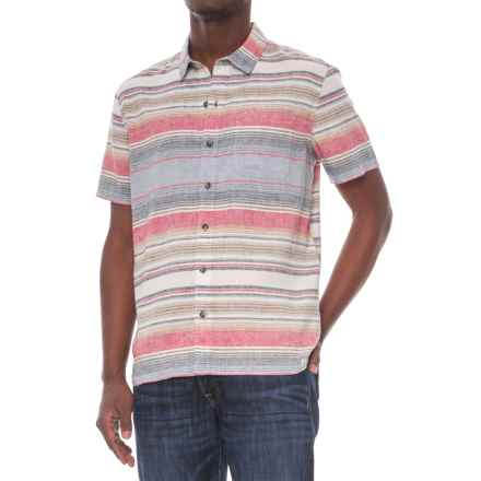 Gramicci Rincon Plaid Shirt - Short Sleeve (For Men) in Ceviche - Closeouts