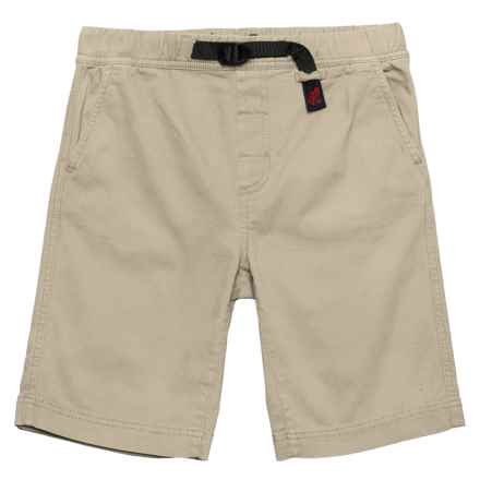 Gramicci River Shorts - Organic Cotton (For Boys) in Khaki - Closeouts