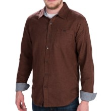 Gramicci Riverbend Shirt - Long Sleeve (For Men) in Dark Walnut - Closeouts