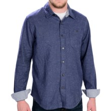 Gramicci Riverbend Shirt - Long Sleeve (For Men) in New Navy - Closeouts