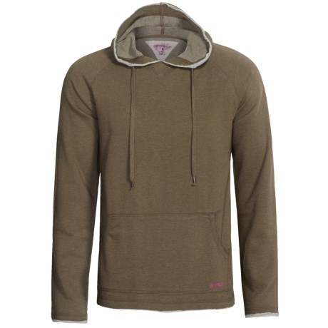 Gramicci Rivertown Hoodie - UPF 20, Ventura French Terry (For Men) in Green Sparrow